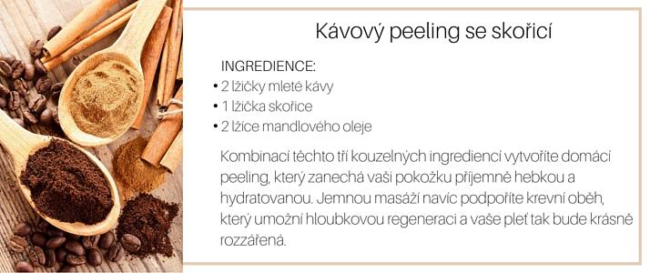 jarni detoxikace pleti kavovy peeling