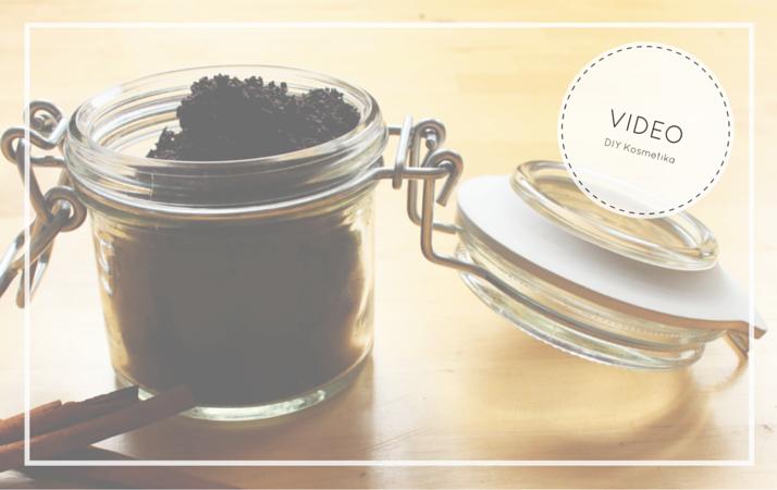 Domaci kavovy scrub se skorici a mandlovym olejem