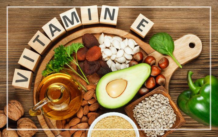 Benefity vitaminu E na plet