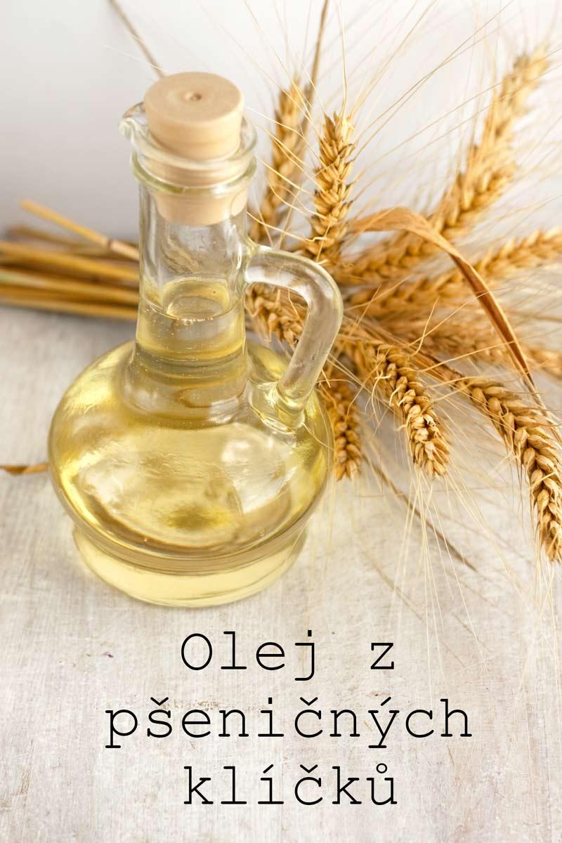 Olej z psenicnych klicku bohaty zdroj prirodniho vitaminu E