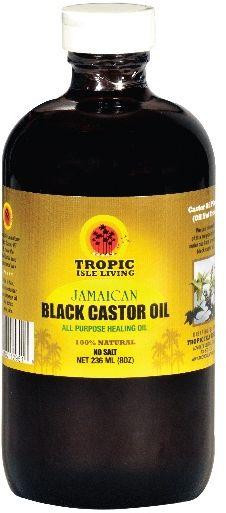 Ricinový olej z Jamajky od značky Tropical Isle Living
