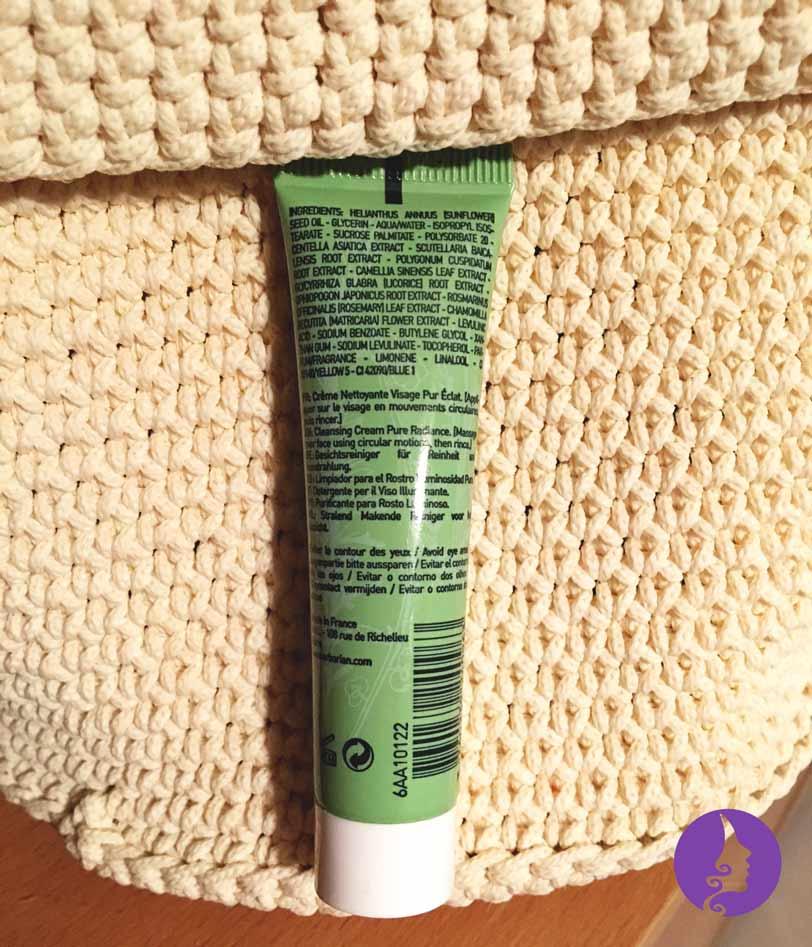 Složení korejského čistícího krému Detox 7 Herbs od značky Erborian