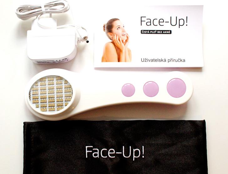 obsah balení face-up