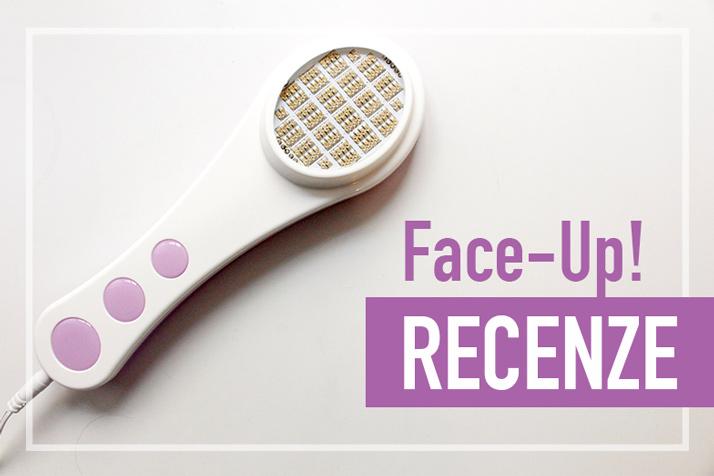 Face-Up přístroj na domácí léčbu akné recenze