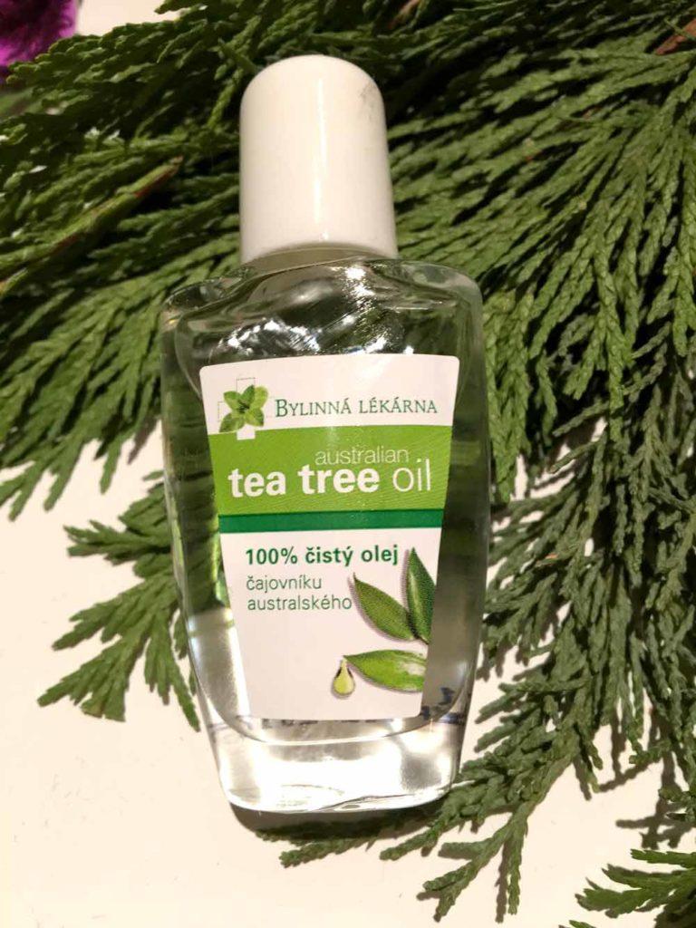 tea tree olej z čajovníku australského