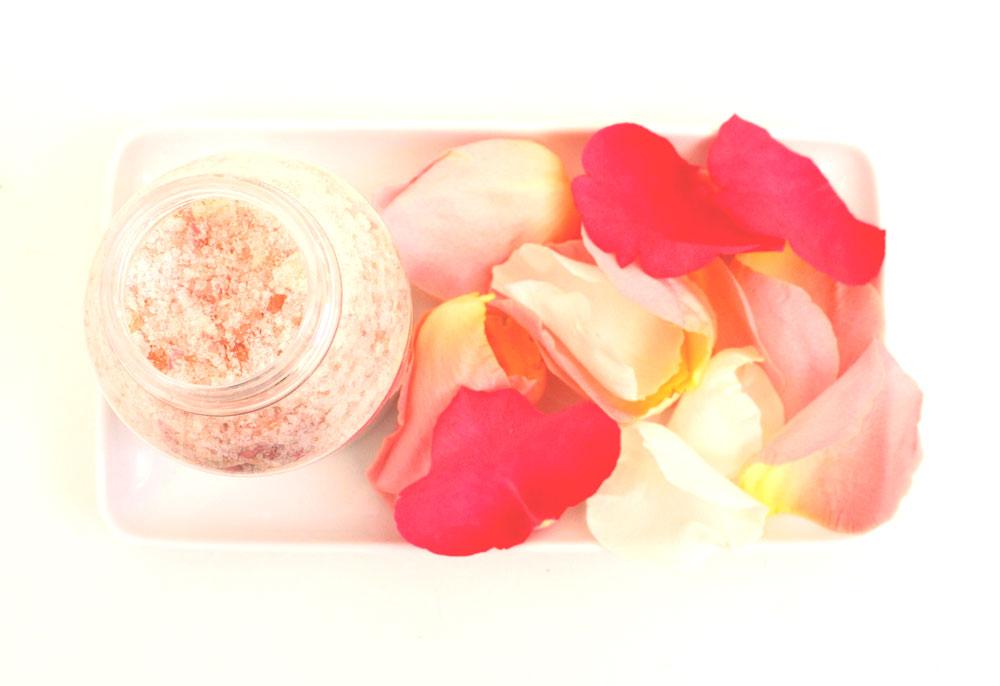 růžová sůl do koupele diy návod na přípravu